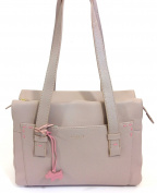"Radley Medium Ziptop Tote Grey ""Villiars Road"""