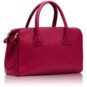 Womens Faux Leather Shoulder Bags Ladies Handbags Designer Style Tote New Croc