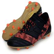 Adidas Children's Football Boots Nemeziz 17.1 FG J Black Black/Solar Red 30