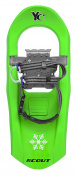 Yukon Charlies Junior Scout 716 Moulded Snowshoes - Green