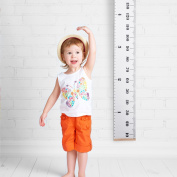 Kids Height Growth Chart Hanging Ruler, Measures from 0.06m to 2m
