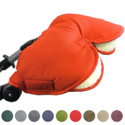 Bambini World Universal Muff/Hand Warmer for Pushchairs Buggy, Jogger with One Piece Jumpsuit
