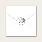 Butterfly Swirls - Wedding Envelope Seals