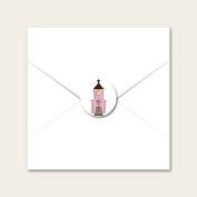 Church & Bunting- Wedding Envelope Seals