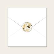Cream English Rose - Wedding Envelope Seals