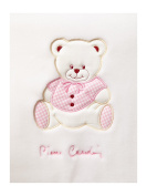 Pierre Cardin Embroidered Baby Blanket Teddy
