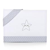 Piccolandy Good Night – Linen Baby Crib, Grey