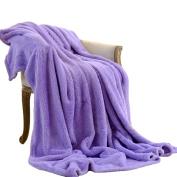 CHENGYANG Flannel Fleece Blanket Living Room Bedroom Sleeping Soft Sofa Bed Throws Cosy Blankets
