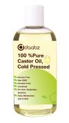 Daabz 100% Pure Castor Oil. Hexane Free, Cold Pressed, Non-GMO for Hair, Eyelashes & Brow Growth. Repair Hair, Moisturise Skin & Lips 250ml