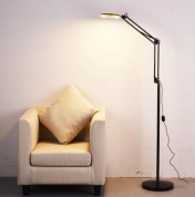 Floor light Simple folding floor lamp bedroom led beauty light tattoo modern creative study American floor lamp bedside lamps