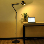 Floor light LED floor lamp long arm floor lamp living room bedroom study modern minimalist work reading floor lamps bedside lamps
