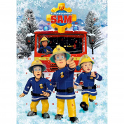Fireman Sam Advent Calendar 75g Chocolate