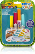 Crayola Mini Kids Colour Pop – 81-2007-E-000 4x Marker Refill – Water Washable Colouring