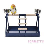 Metal Table Top Parrot Stand- Small medium Bird