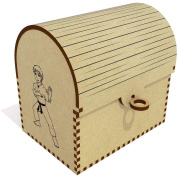 'Karate Boy' Treasure Chest / Jewellery Box
