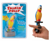 TALKING POLLY Speaking Parrot Bird Toy RECORDS & REPEATS Kids Fun Novelty Gift by Lizzy®