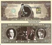 Novelty Dollar Dr Jekyll Mr Hyde Fredric March Dollar Bills X 4