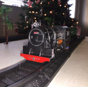 Classic Express Musical Motion Train Engine & 3 Carriages with 96cm Track