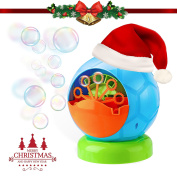 Bubble Machine, Fansteck Durable Portable Bubble Blower, Funny Football Shape for Kids and adults, Easy to Use for Christmas, Paties, Barbecue, Ball, Wedding, etc