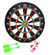 DPNY Hook and loop Dart & ball Board Dartboard Darts Party Game Toy Playset Kids Children
