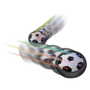 prelikes Hover Ball Air Power Floating Soccer LED Training Football with Foam Bumpers for Outdoor Indoor Games