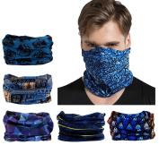 Elastic Multifunctional Headband Sports Seamless Magic Headwear Outdoor Bandana Scarf with UV Resistance