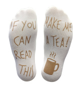 Novelty Causal Socks Christmas Socks If You Can Read Funny Christmas Gift for Lover, Friends, Mom and Father Cotton Xmas Socks from D & & R