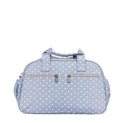 Maternal Bag Trendy Grey Palmira Pink