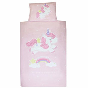 Duvet Cover and Pillowcase Unicorn
