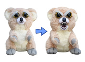 Feisty Pets by William Mark- Liza Loca Adorable 21cm Plush Stuffed Koala That Turns Feisty with a Squeeze