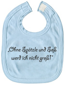 Baby Bibs - Without Spätzle and soß - 08475 - Blue