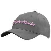 TaylorMade Ladies Tour Radar Cap Ladies Grey/Pink One Size Fits All Ladies Grey/Pink One Size Fits All