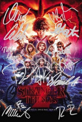Stranger Things Poster Photo 12x8 Signed PP by 11 Cast Eleven Autograph Print Perfect Gift Collectible