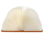 Dreamtop Foldable Colour Changing LED Light Book Style Creative Decorative Night Light Wall Lamp