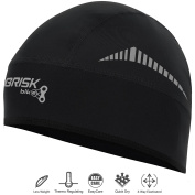 Brisk Cycling Cap Elegant Style Thermal Skull Caps Tight Fit Wind Proof Helmet Regular Size Stretchable Head Warmer One Size