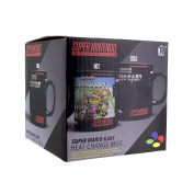 Nintendo SNES Super Mario Kart Heat Change Mug