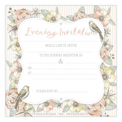 Rachel Ellen Wedding Invitations 8pk- Evening Reception
