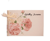 10 Ivory Personalised Wedding Invitations Day/Evening with inserts and 10 x Envelopes