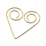 Knorr Prandell Deco Clips - Heart Gold 44mm
