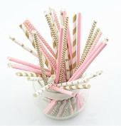 Straws Assorted Designs 125 U.