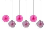 Decorative Paper Fan 6 unds