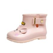 Saihui For 1-6 Years baby, Unisex Kids' Rubber Baby Cartoon Cat Pattern Rain Boots