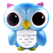 Stress Relief Toys For Adults,Festiday 15cm Lovely Galaxy Owl Cream Scented Squishy Slow Rising Squeeze Toys Collection