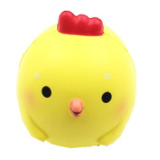 VNEIRW Yellow Chicken Jumbo Scented Squishies Slow Rising Baby Squeeze Soft Toys Stress Relief Toys