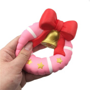 Hotsellhome Exquisite Fun Simulation Doughnut Bell Scented Charm Squishy Slow Rising Kids Soft Toy