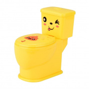 NXDWJ Mini Funny Prank Squirt Spray Water Toilet Closestool Joke Gag Toy Desktop Gift PVC Mobile Chain Fidget Cute Random Colour Toys
