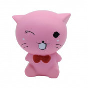 VNEIRW Cute Cat Jumbo Scented Squishies Slow Rising Baby Toys Squeeze Soft Toys Stress Relief Toys