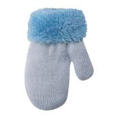 Unbekannt Baby Boys' Gloves Blue blau hellblau One Size