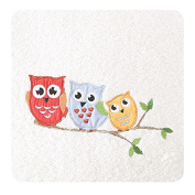 Children's Terry Towelling Bath Towel 50x90 cm Absorbent 450 GSM 15/01 Cream Owl