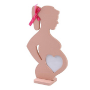 Saihui 1pcs Wedding Wooden Photo Frame Pregnant Women Home Decoration Body Props Table Decor